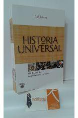 HISTORIA UNIVERSAL. 3, LA ERA DEL IMPERIALISMO EUROPEO