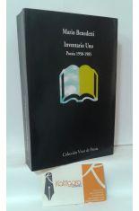 INVENTARIO UNO. POESÍA 1950-1985