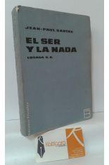 EL SER Y LA NADA. ENSAYO DE ONTOLOGÍA FENOMENOLÓGICA