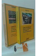 HISTORIA ECONÓMICA DE EUROPA (6) ECONOMÍAS CONTEMPORÁNEAS (PRIMERA Y SEGUNDA PARTES, 2 TOMOS)