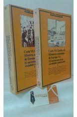 HISTORIA ECONÓMICA DE EUROPA (4) EL NACIMIENTO DE LAS SOCIEDADES INDUSTRIALES (PRIMERA Y SEGUNDA PARTE, 2 TOMOS)