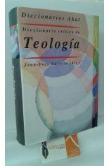 DICCIONARIO CRÍTICO DE TEOLOGÍA