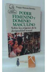 PODER FEMENINO Y DOMINIO MASCULINO, SOBRE LOS ORÍGENES DE LA DESIGUALDAD SEXUAL