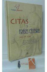 CITAS Y FRASES CÉLEBRES