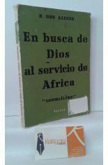 EN BUSCA DE DIOS AL SERVICIO DE ÁFRICA
