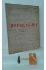 LITERATURA ESPAÑOLA (COMENTARIO DE TEXTOS) SEXTO CURSO