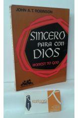 SINCERO PARA CON DIOS. HONEST TO GOD