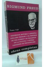 OBRAS COMPLETAS DE SIGMUND FREUD, TOMO 8 (1925-1933)