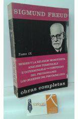 OBRAS COMPLETAS DE SIGMUND FREUD, TOMO 9 (1934-1950)