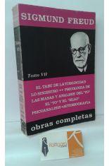 OBRAS COMPLETAS DE SIGMUND FREUD, TOMO 7 (1916-1924)