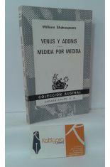 VENUS Y ADONIS - MEDIDA POR MEDIDA