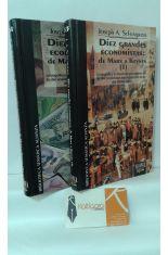 DIEZ GRANDES ECONOMISTAS: DE MARX A KEYNES (2 TOMOS)