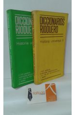 DICCIONARIO RIODUERO DE HISTORIA UNIVERSAL (2 TOMOS)
