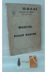 MANUAL RADAR RASURA. M-0-4-42. 26 DE SEPTIEMBRE 1975