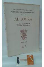 ALTAMIRA. REVISTA DEL CENTRO DE ESTUDIOS MONTAÑESES, TOMO XLIII (43)