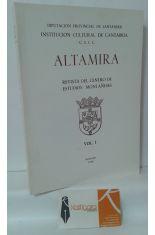 ALTAMIRA. REVISTA DEL CENTRO DE ESTUDIOS MONTAÑESES, TOMO XLI (41)