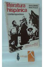 LITERATURA HISPÁNICA CONTEMPORÁNEA
