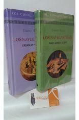 LOS NAVEGANTES (TOMO I MAGALLANES Y ELCANO - TOMO II URDANETA Y LEGAZPI)