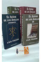 EL SEÑOR DE LOS ANILLOS (3 TOMOS MÁS APÉNDICE)