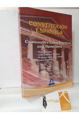 CONSTITUCIÓN ESPAÑOLA. CUESTIONARIO Y CASOS PRÁCTICOS PARA OPOSICIONES