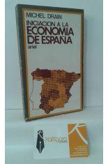 INICIACIÓN A LA ECONOMÍA DE ESPAÑA