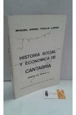 HISTORIA SOCIAL Y ECONÓMICA DE CANTABRIA HASTA EL SIGLO X
