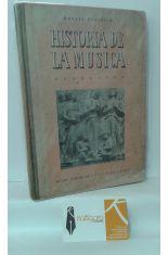HISTORIA DE LA MÚSICA. LA MÚSICA A TRAVÉS DE LOS TIEMPOS