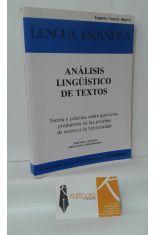 ANÁLISIS LINGÜÍSTICO DE TEXTOS