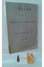 TABLAS PARA LA NAVEGACIÓN ASTRONÓMICA