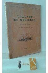 TRATADO DE MANIOBRA (CUADERNO CUARTO). MANIOBRAS CON BUQUES DE VAPOR
