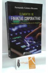 ELEMENTOS DE FINANZAS CORPORATIVAS. INVERSIÓN Y FINANCIACIÓN EN LA EMPRESA