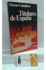 TITULARES DE ESPAÑA