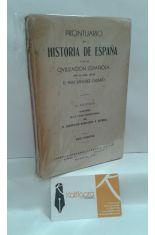 PRONTUARIO DE HISTORIA DE ESPAÑA Y DE LA CIVILIZACIÓN ESPAÑOLA