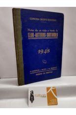 NOTAS DE UN VIAJE A TRAVÉS DE LEÓN, ASTURIAS Y SANTANDER. 1945