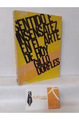 SENTIDO E INSENSATEZ EN EL ARTE DE HOY