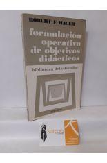 FORMULACIÓN OPERATIVA DE OBJETIVOS DIDÁCTICOS