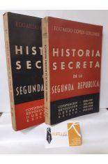 HISTORIA SECRETA DE LA SEGUNDA REPÚBLICA (2 TOMOS)