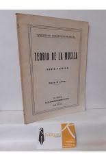 TEORÍA DE LA MÚSICA. PARTE PRIMERA
