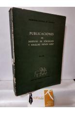PUBLICACIONES DEL INSTITUTO DE ETNOGRAFÍA Y FOLKLORE HOYOS SAINZ. VOL. IV
