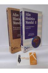 ATLAS HISTÓRICO MUNDIAL (2 TOMOS) DE LOS ORÍGENES A LA REVOLUCIÓN FRANCESA + DE LA REVOLUCIÓN FRANCESA A NUESTROS DÍAS
