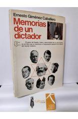 MEMORIAS DE UN DICTADOR