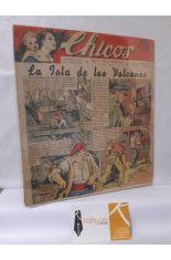 CHICOS Nº 165. AÑO IV, 30 DE ABRIL DE 1941. LA ISLA DE LOS VOLCANES
