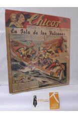 CHICOS Nº 184. AÑO IV, 22 DE OCTUBRE DE 1941. LA ISLA DE LOS VOLCANES