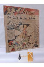 CHICOS Nº 194. AÑO IV, 31 DICIEMBRE DE 1941. LA ISLA DE LOS VOLCANES