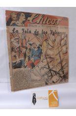 CHICOS Nº 198. AÑO IV, 28 DE ENERO DE 1942. LA ISLA DE LOS VOLCANES