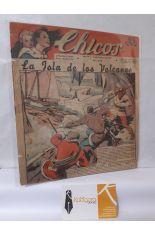 CHICOS Nº 200. AÑO IV, 11 DE FEBRERO DE 1942. LA ISLA DE LOS VOLCANES
