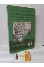 LA OBRA DE PEREDA ANTE LA CRÍTICA LITERARIA DE SU TIEMPO