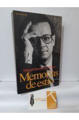 MEMORIAS DE ESTÍO