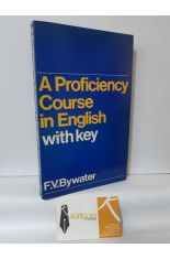 A PROFICIENCY COURSE IN ENGLISH WITH KEY