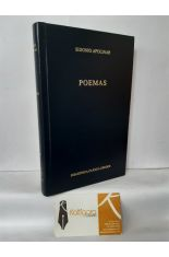 POEMAS. BIBLIOTECA CLÁSICA GREDOS 337